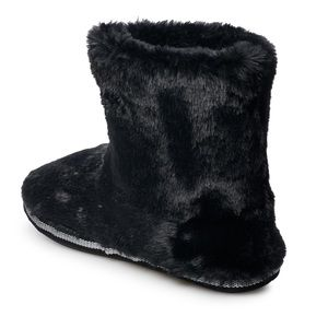 SO Shoes - SO juniors' faux fur bootie slippers